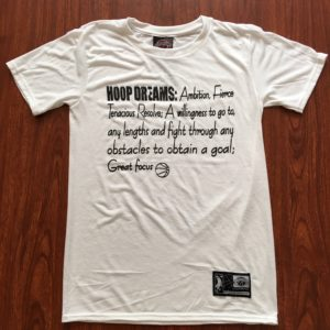 Hoop Dreams Definition T-Shirt White